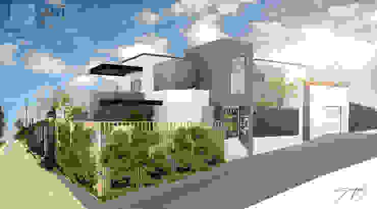 Residencia A/T Casas minimalistas de SANT1AGO arquitectura y diseño Minimalista Metal
