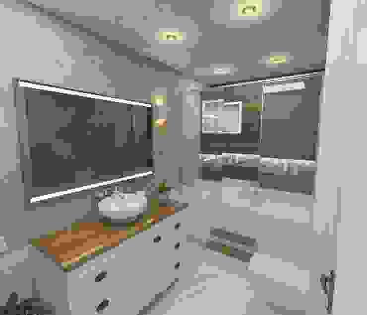 ห้องน้ำ โดย Murat Aksel Architecture,