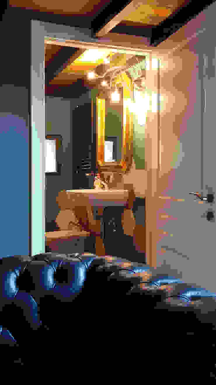DEFPOINT STUDIO architettura & interni Eclectic style bathroom