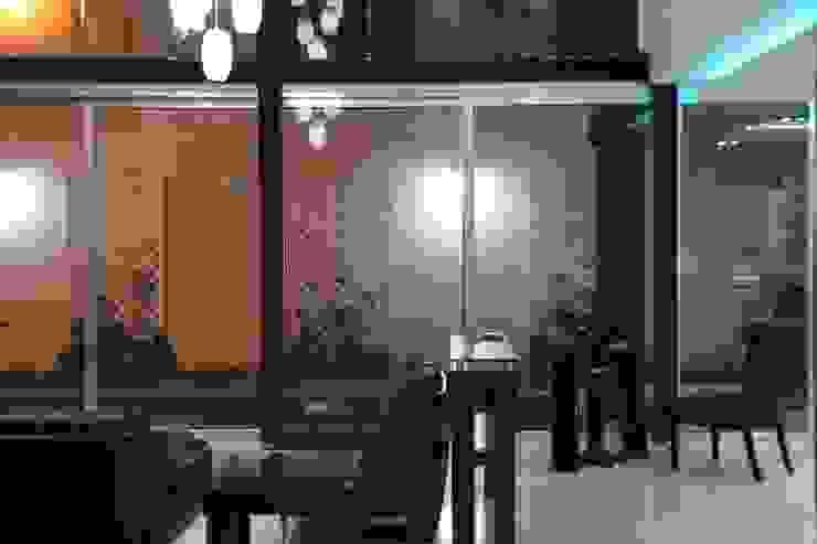 CASA BALLENA Salones minimalistas de DISEÑO APLICADO AVANZADO DE GUADALAJARA 2 Minimalista