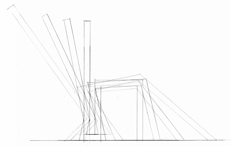 schets van Joyce Bark Minimalistisch Multiplex