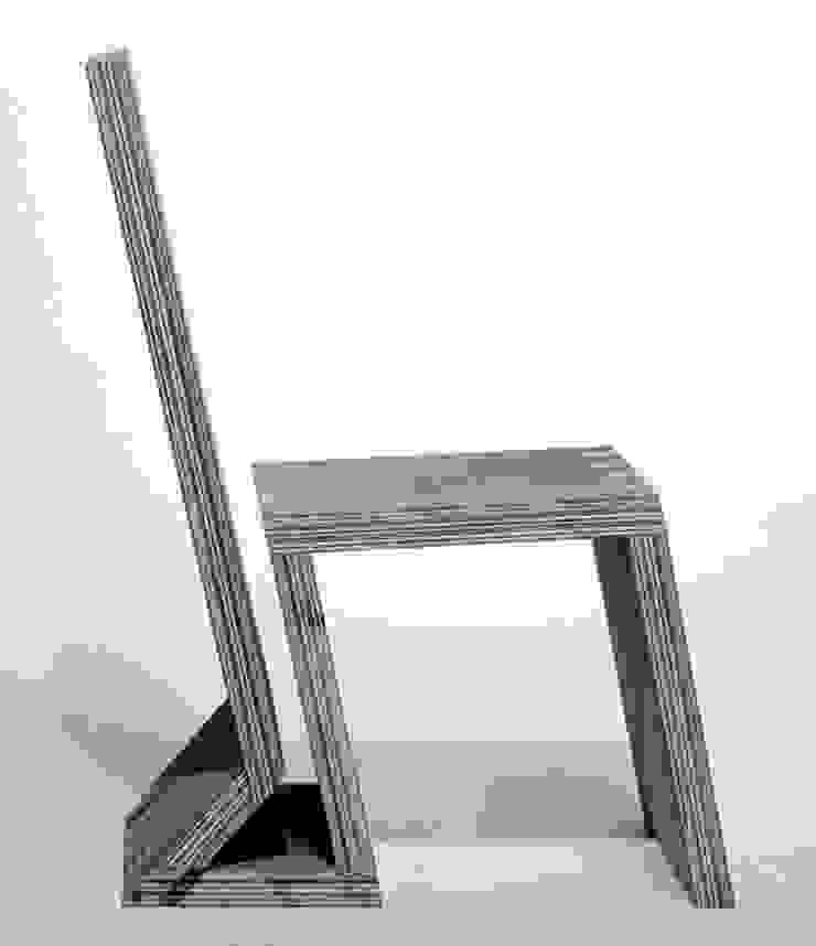 stoel 2 van Joyce Bark Minimalistisch Multiplex