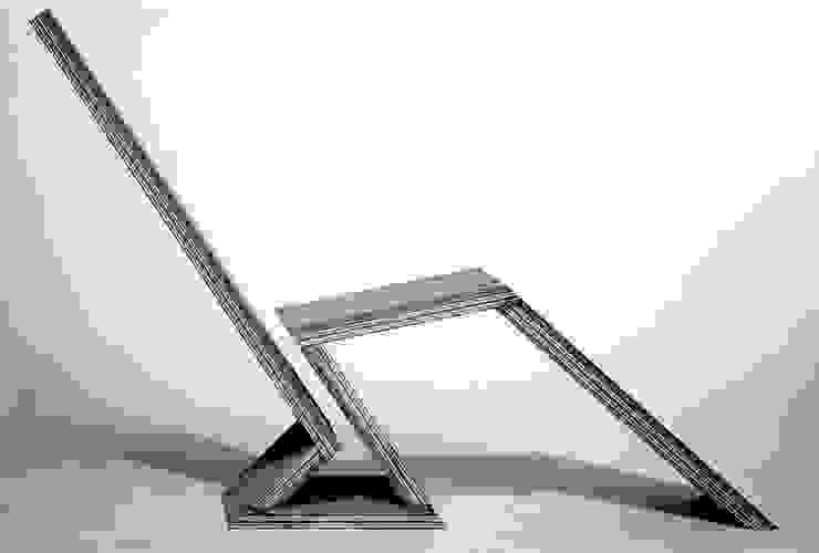 stoel 4 van Joyce Bark Minimalistisch Multiplex