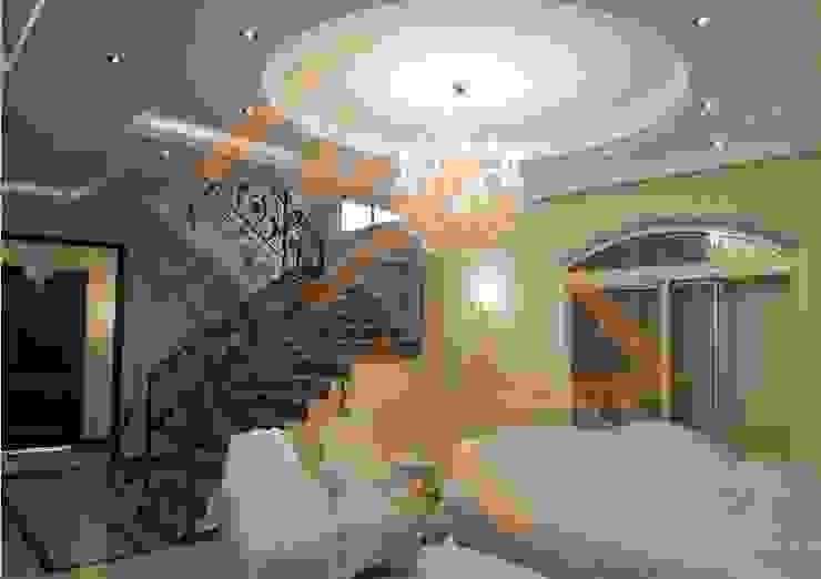 الصاله السفلية من شركة زمزم للتصميم و التفيذ المعماري كلاسيكي