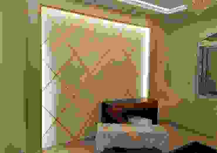 غرفة نوم رئيسيه من شركة زمزم للتصميم و التفيذ المعماري كلاسيكي