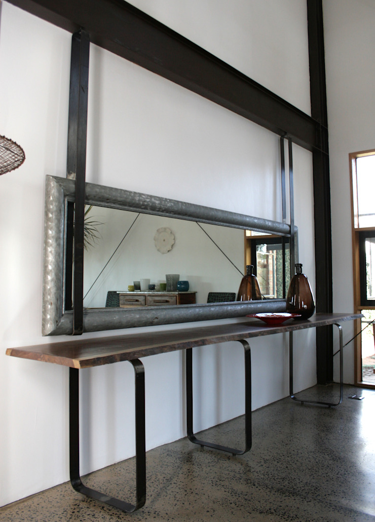 Barn House - Dining area Country style dining room by Strey Architects Country Concrete