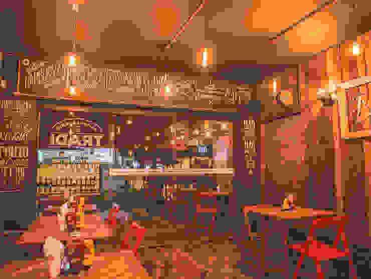 Gastronomi Gaya Rustic Oleh KC ARQUITETURA urbanismo e design Rustic