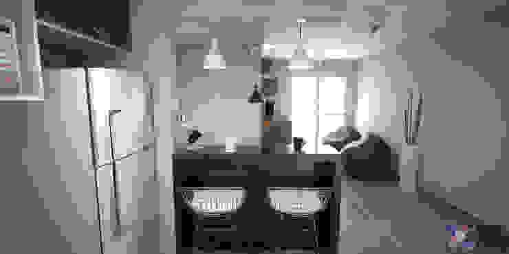 Cocinas de estilo moderno de KC ARQUITETURA urbanismo e design Moderno