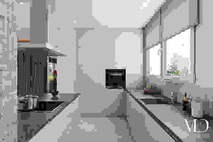 MD Creative Lab - Architettura & Design Modern kitchen Quartz Brown