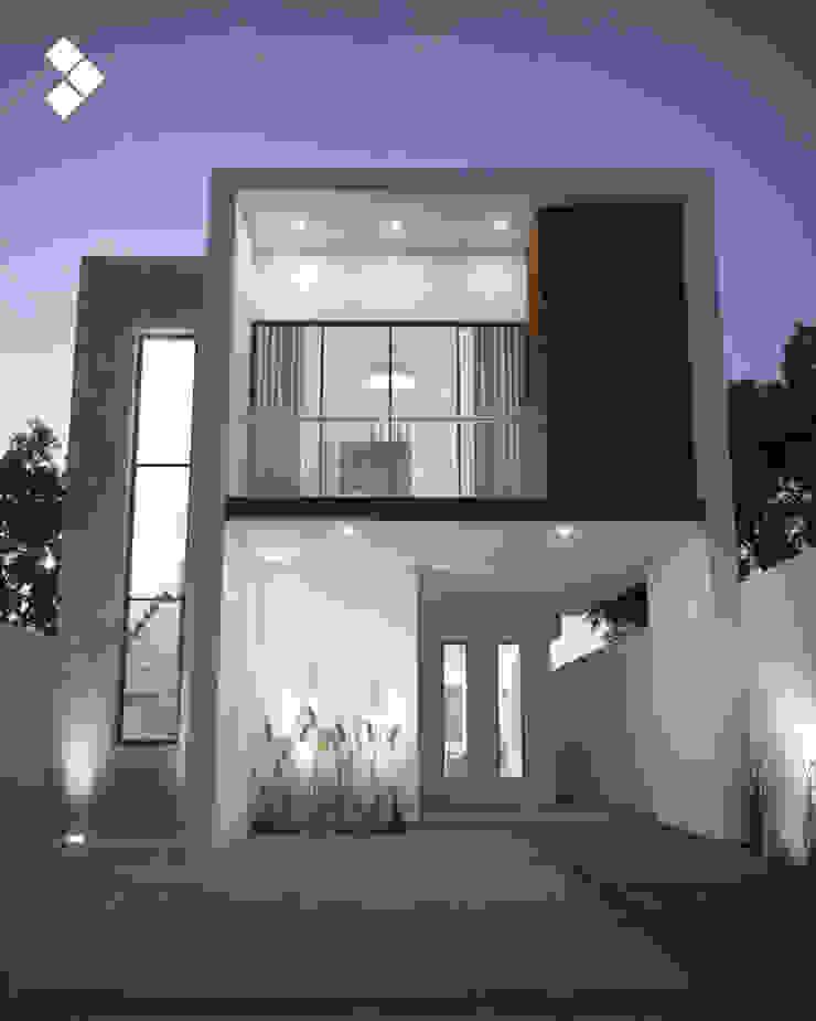 Fachada interior Casas modernas de CDR CONSTRUCTORA Moderno