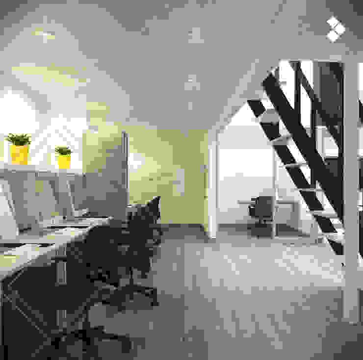Línea de diseño Estudios y despachos minimalistas de CDR CONSTRUCTORA Minimalista