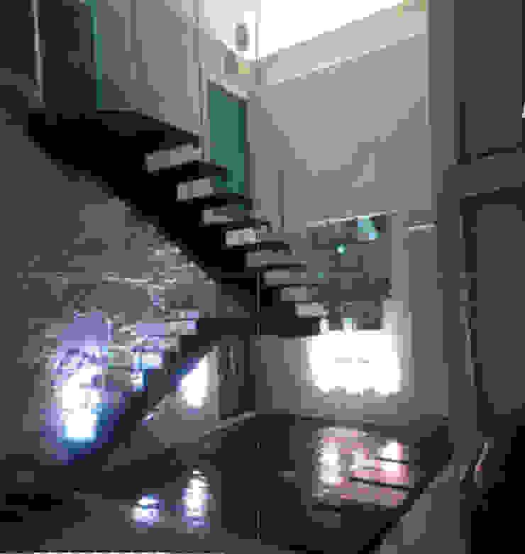 CASA BALLENA Pasillos, vestíbulos y escaleras modernos de Diseño Aplicado Avanzado de Guadalajara Moderno