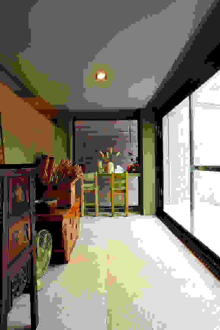 偶像劇豪宅大曝光 亞洲風玄關、階梯與走廊 根據 戎馬整合設計 日式風、東方風