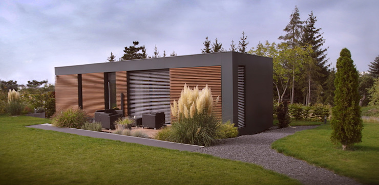 Houses by smartshack, Minimalist Wood-Plastic Composite