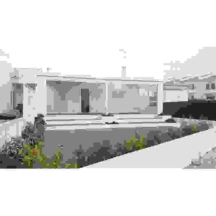 PROJETO DE REMODELAÇÃO DE EXTERIORES Jardins de Inverno minimalistas por all Design [Arquitectura e Design de Interiores] Minimalista