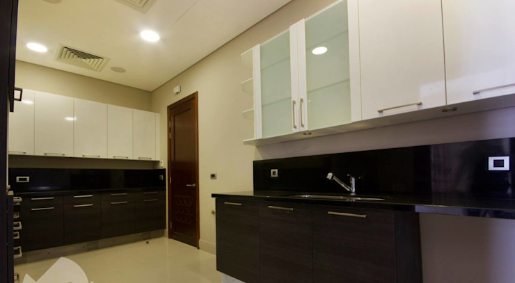 تشطيب شقة 6 اكتوبر من YAS interior designs حداثي