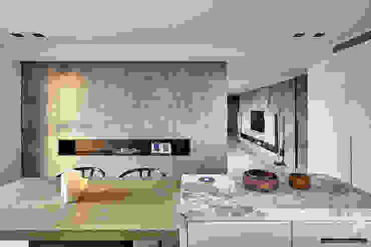 源自原本 Essence 現代廚房設計點子、靈感&圖片 根據 源原設計 YYDG INTERIOR DESIGN 現代風