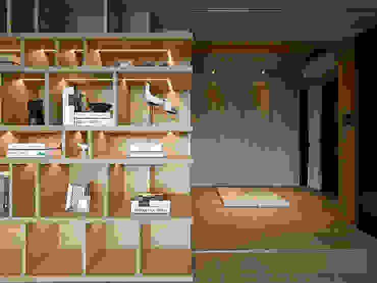 源自原本 Essence Modern Study Room and Home Office by 源原設計 YYDG INTERIOR DESIGN Modern