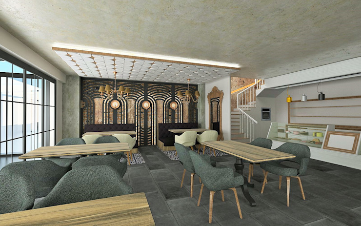 Murat Aksel Architecture Interior landscaping Wood Wood effect