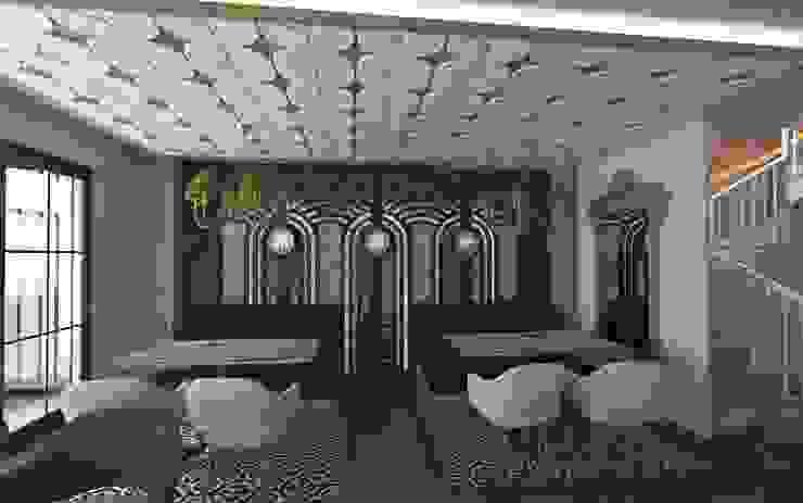 Murat Aksel Architecture Interior landscaping Wood-Plastic Composite Grey