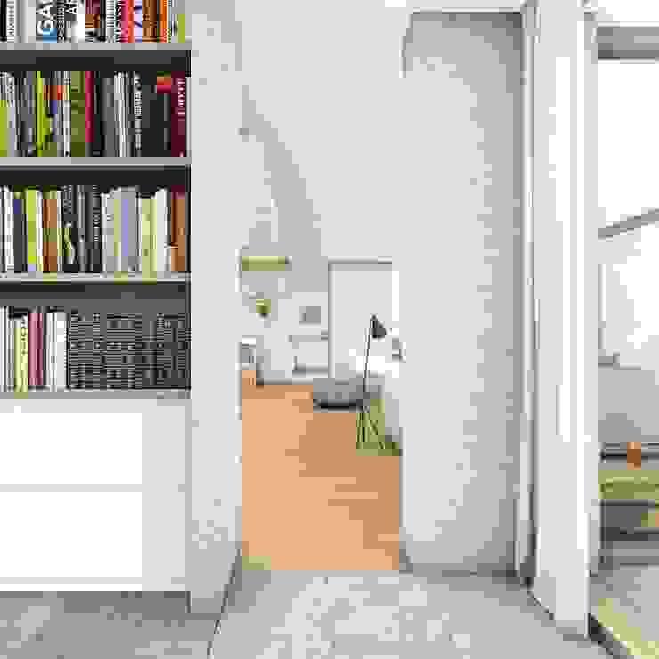 Studie Moderne studeerkamer van De Nieuwe Context Modern Kalksteen