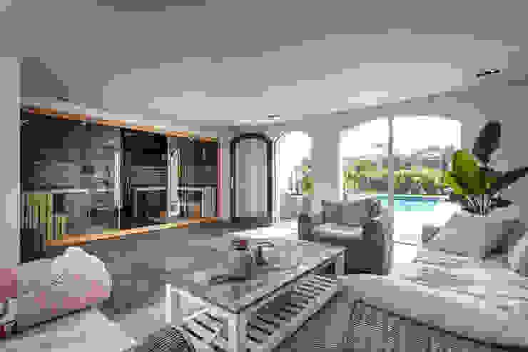 Ontwerp wellnessruimte en aangrenzende tuin Moderne spa's van Bob Romijnders Architectuur + Interieur Modern