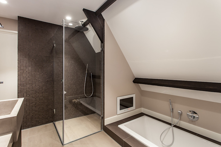 Badkamer Bob Romijnders Architectuur + Interieur Moderne badkamers