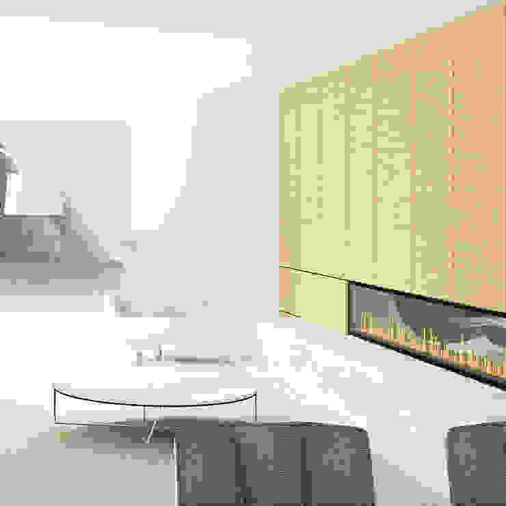 Eettafel Moderne woonkamers van De Nieuwe Context Modern Marmer