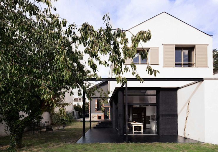 Houses by Florence Gaudin architecte