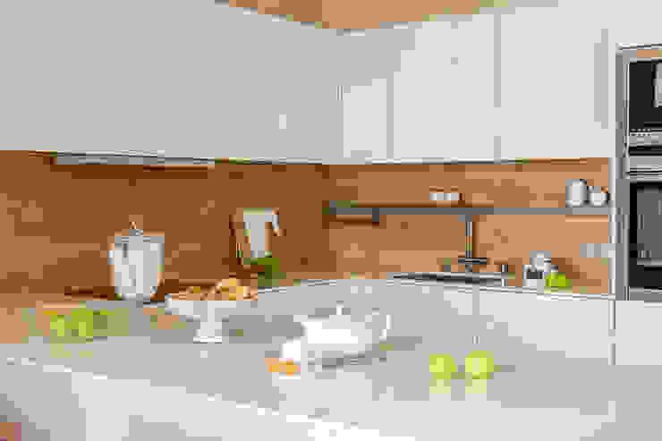 Cocinas minimalistas de Alexander Krivov Minimalista