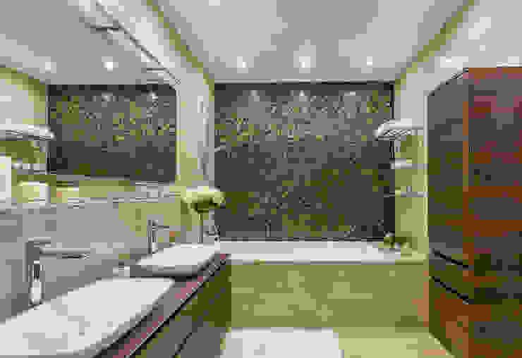 Baños minimalistas de Alexander Krivov Minimalista