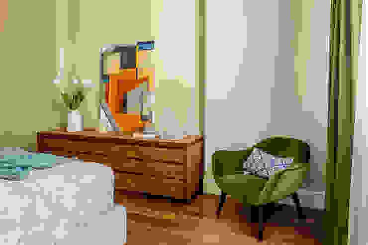 Dormitorios minimalistas de Alexander Krivov Minimalista