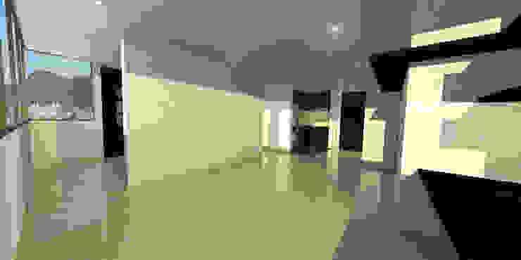 apartment 039 Salas de estilo minimalista de origini Minimalista Aglomerado