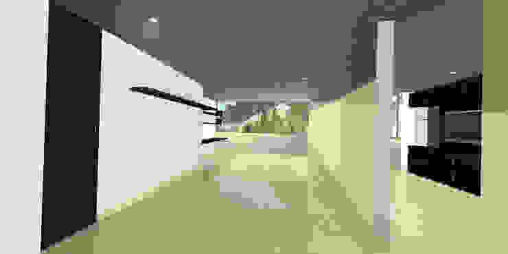 apartment 039 Estudios y despachos de estilo minimalista de origini Minimalista Aglomerado