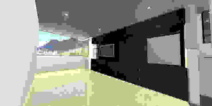 apartment 039 Habitaciones de estilo minimalista de origini Minimalista Aglomerado