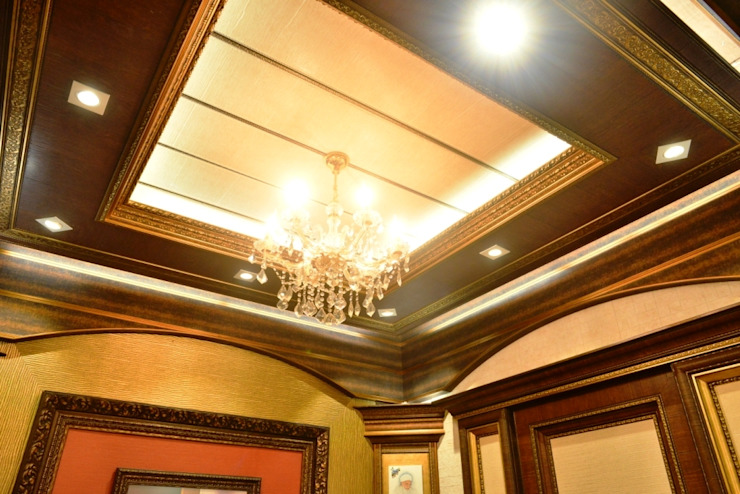 Bedroom Ceiling: colonial  by MARIA DECOR,Colonial