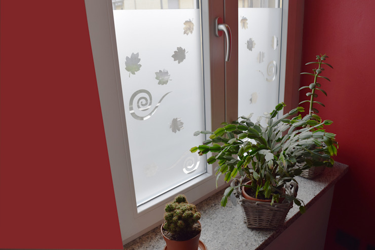 Schermatura finestra Cucina moderna di Fabio Ricchezza architetto Moderno PVC