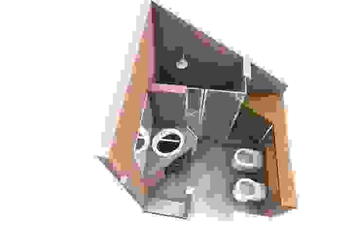Baños de estilo moderno de Fabio Ricchezza architetto Moderno
