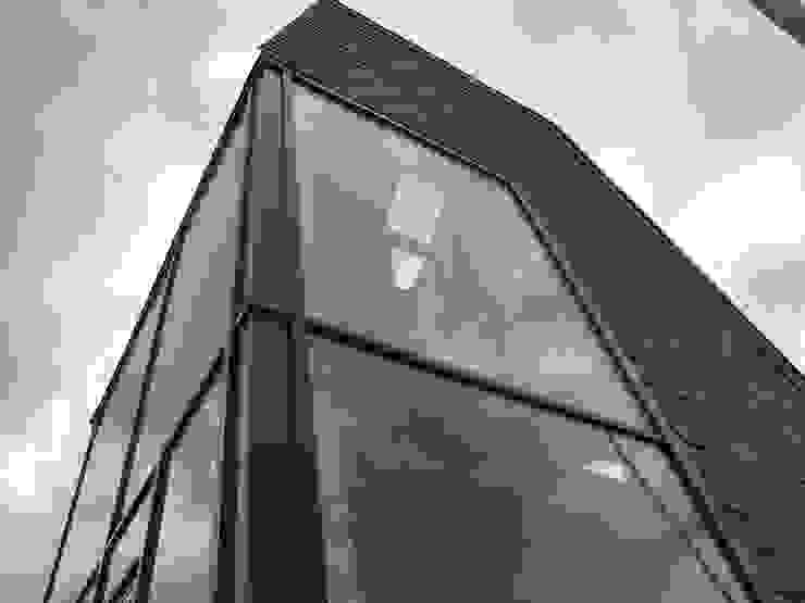 Torenwoning Moderne huizen van Architectenbureau Jules Zwijsen Modern Glas