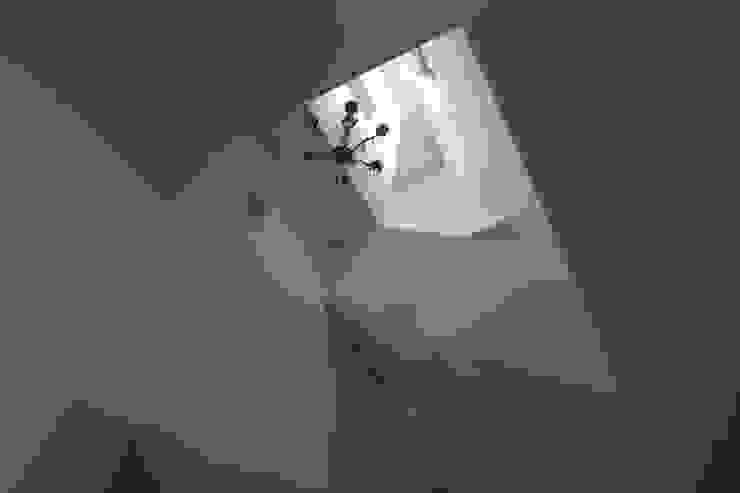 Torenwoning Moderne gangen, hallen & trappenhuizen van Architectenbureau Jules Zwijsen Modern