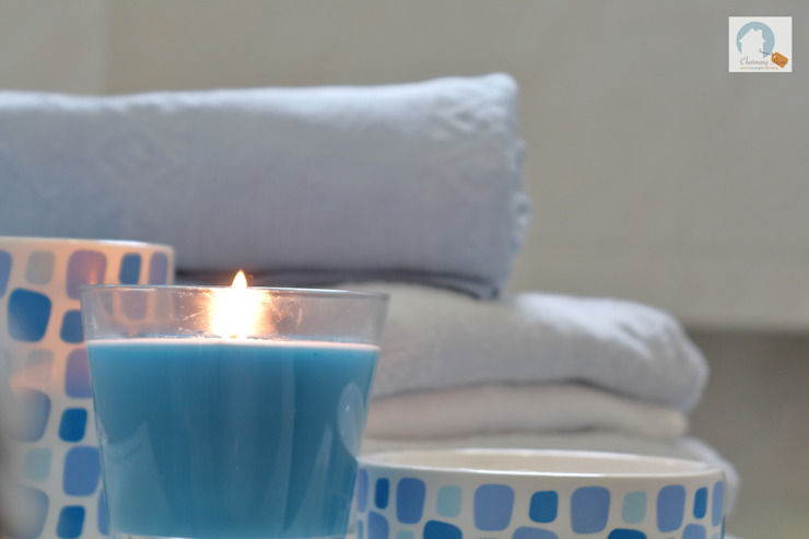 Charming Home Salle de bainDécorations Bleu
