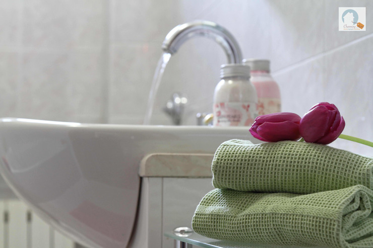 Charming Home BathroomDecoration Green