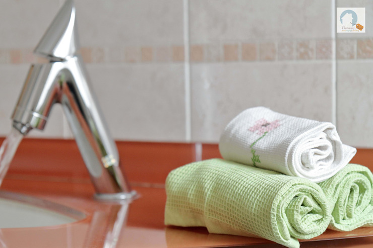 Charming Home BañosTextiles y accesorios Verde