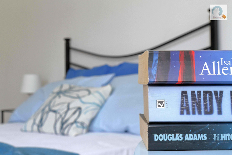 Charming Home RecámarasTextiles Azul