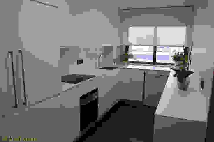 Reforma integral de cocina con office Visaespais, reformas y rehabilitaciones en Tarragona Cocinas de estilo moderno