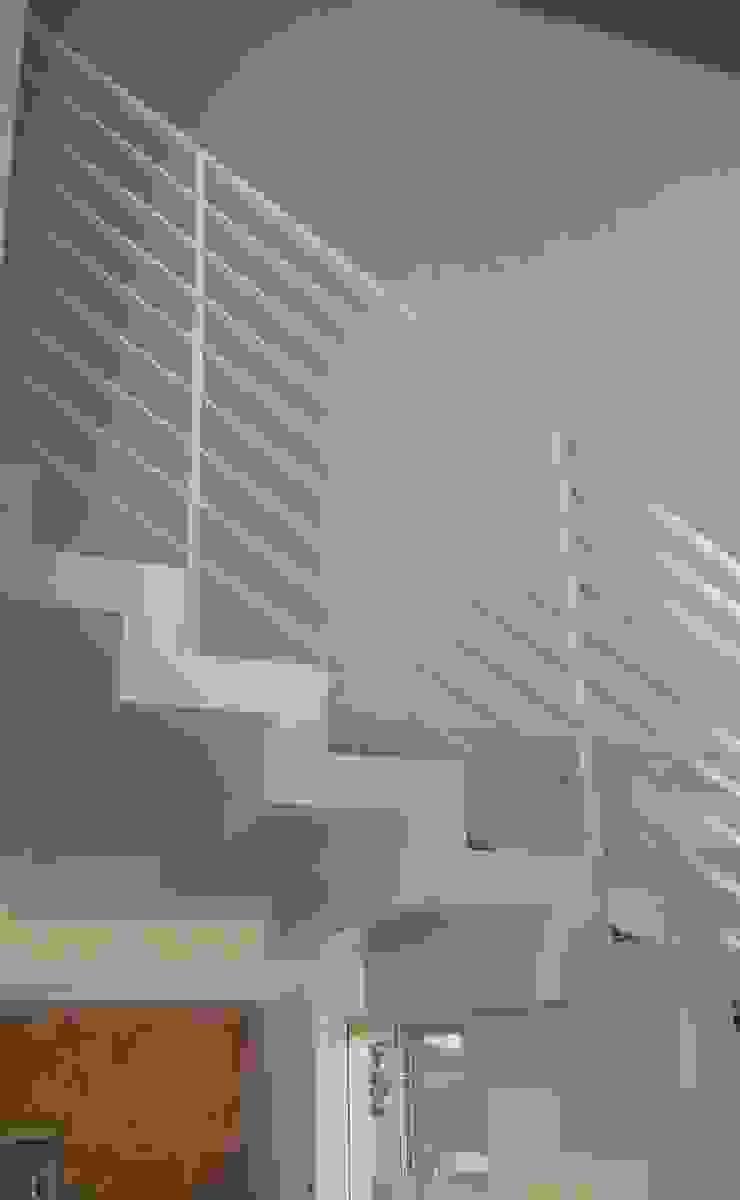 Forme snc. Modern Corridor, Hallway and Staircase Iron/Steel White