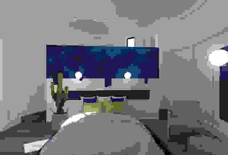 Appartement Badia Tikki Chambre originale par homify Éclectique