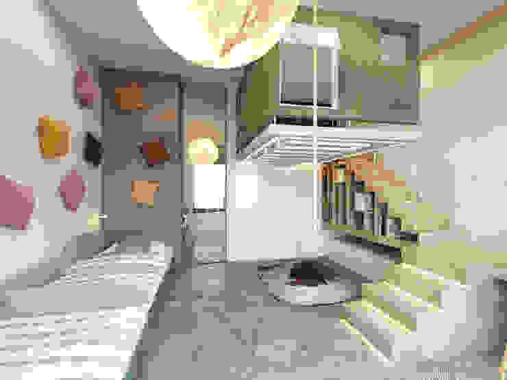 Пентхаус в Садовых Кварталах Детская комнатa в стиле минимализм от Kerimov Architects Минимализм
