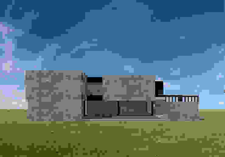 Vivienda GS Casas minimalistas de Proyectarq Minimalista Ladrillos