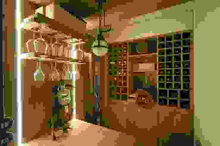 STUDIO CERON & CERON Wine cellar